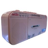 U Disk Tape Transcription machine High Fidelity Recorder FM Radio Audio Sound Output MP3 Music Player Speakers Repeater Machine