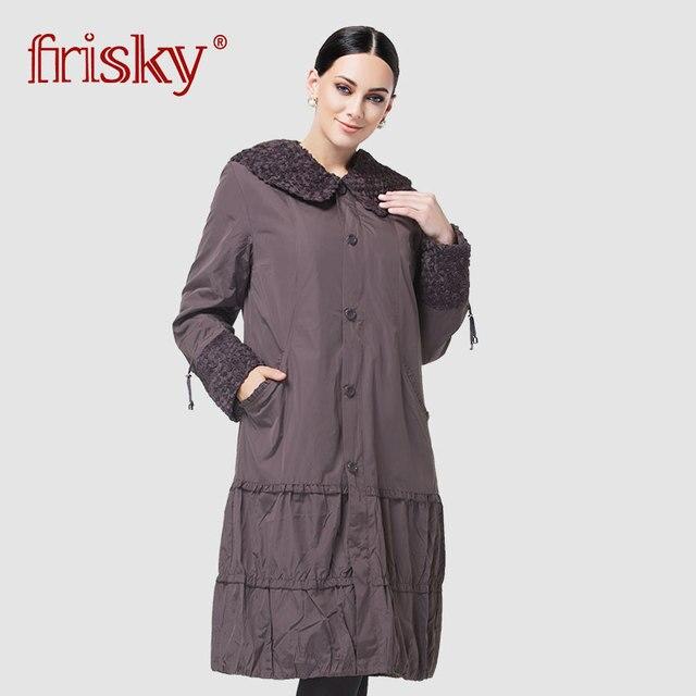 Астрид 2019 Тренч высокого качества для женщин Плащ Большие размеры Для женщин ветровка весна и осень пальто Размеры пальто AS-8162