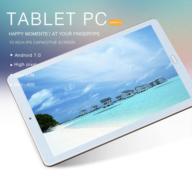 FENGXIANG 10.4 pouces pour les tablettes Android 1920*1280 80MP Pixel 8000 mAh 3G/4G 7.0 Octa Core tablettes d'empreintes digitales déverrouiller les tablettes PC
