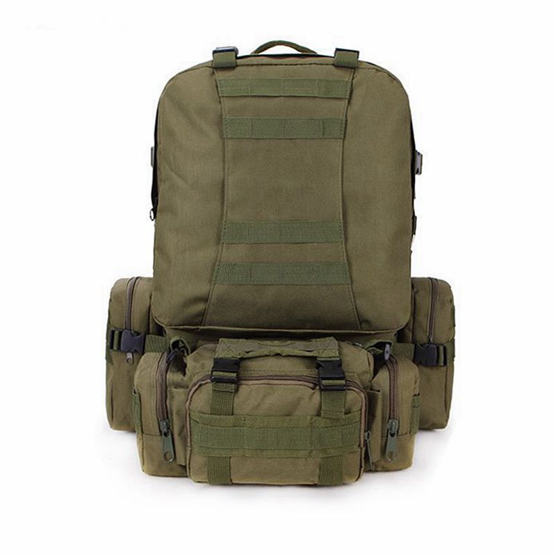 50L sac à dos en plein air Molle militaire tactique sac à dos sac de sport sac d'alpinisme Camping randonnée sac à dos