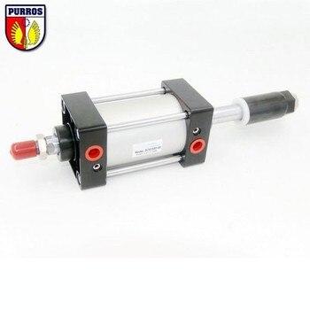 SCJ 50 cilindro ajustable, diámetro: 50mm, Carrera: 25/50/75/100/125/150mm
