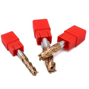 Image 4 - HRC60 1mm 2mm 3mm 4 milímetros 5 milímetros 6mm 8mm 10mm 12mm Sólida carboneto de Fresas de topo de Flauta Fresa Entalho 4 Profiling Rosto Moinho Cortador Para O Metal