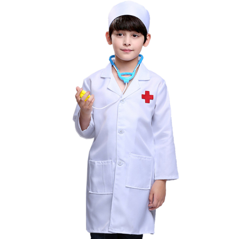 doctor pretend play little nurse doctor role playing traje profissional para 90 110 130 cm