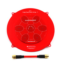 High Quality 150mm Triple Feed Patch 5.8GHz 14dBi Pagoda Array FPV Antenna for RC Drone
