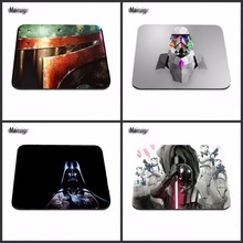 Character Custom-made Excessive High quality Consolation Star Wars Gaming Rubber Mouse New Drop for Optical Mouse Pad 18*22cm /25*29cm