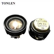 TONLEN 2PCS Full Range Speaker Horn 30mm HIFI Audio Soundbar Music Speakers 8ohm 5W Loudspeaker for Portable Bluetooth