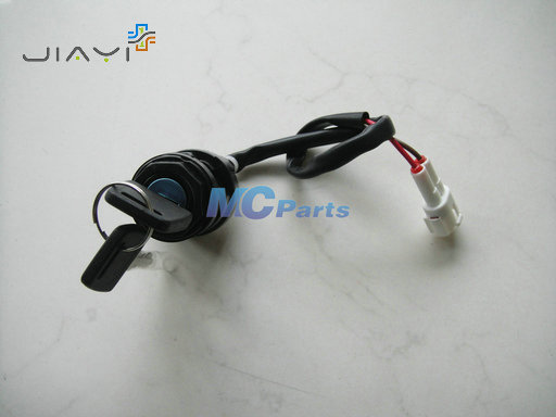 high quality 2 wire ignition switch key lock for atv. Black Bedroom Furniture Sets. Home Design Ideas
