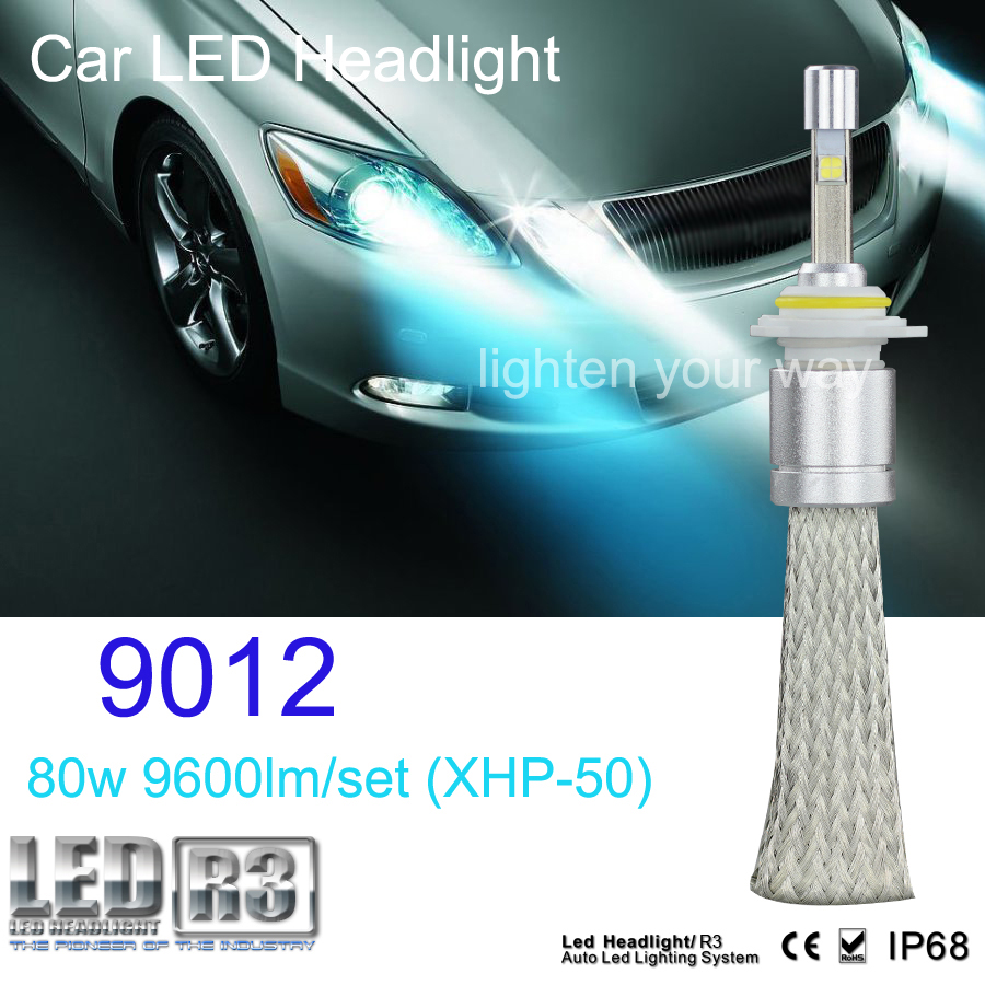 ФОТО 2015 New product car accessories CE RoHS IP68 Waterproof 40W 4800lm h1 h3 h4 h7 h11 h13 9004 9006 9007 9005 9012