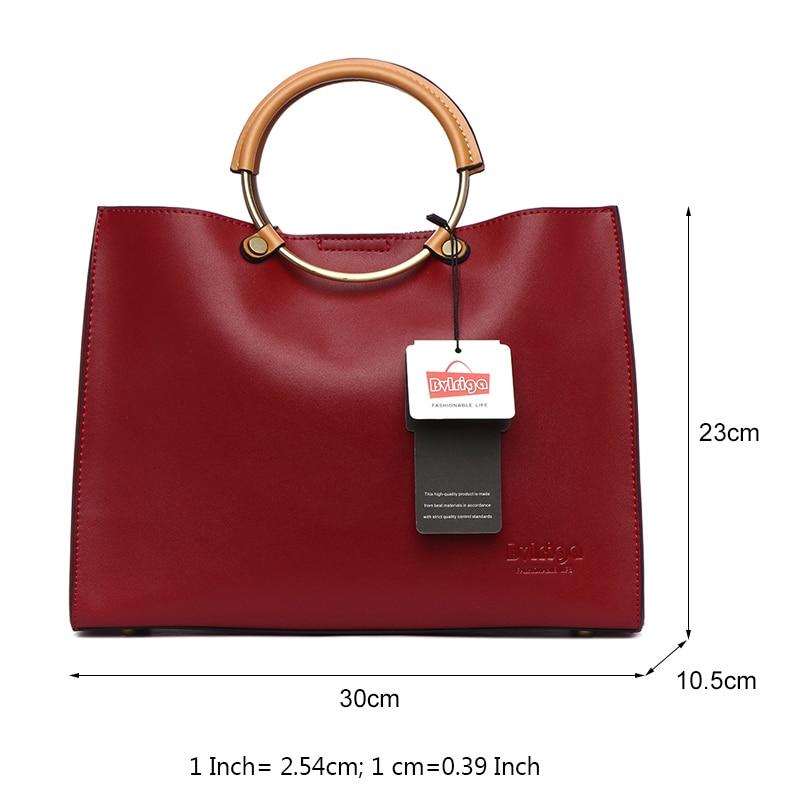 Aliexpress Bvlriga Women Bag Luxury Handbags Bags Designer Female Genuine Leather Famous Brand Messenger From