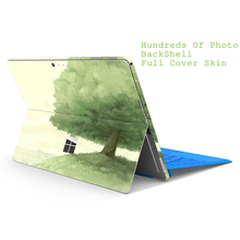 Colorfull Print Screen Protector For Microsoft Windows Surface Pro 2 3 4 5 Full Cover Skin For Surface RT Protect Films