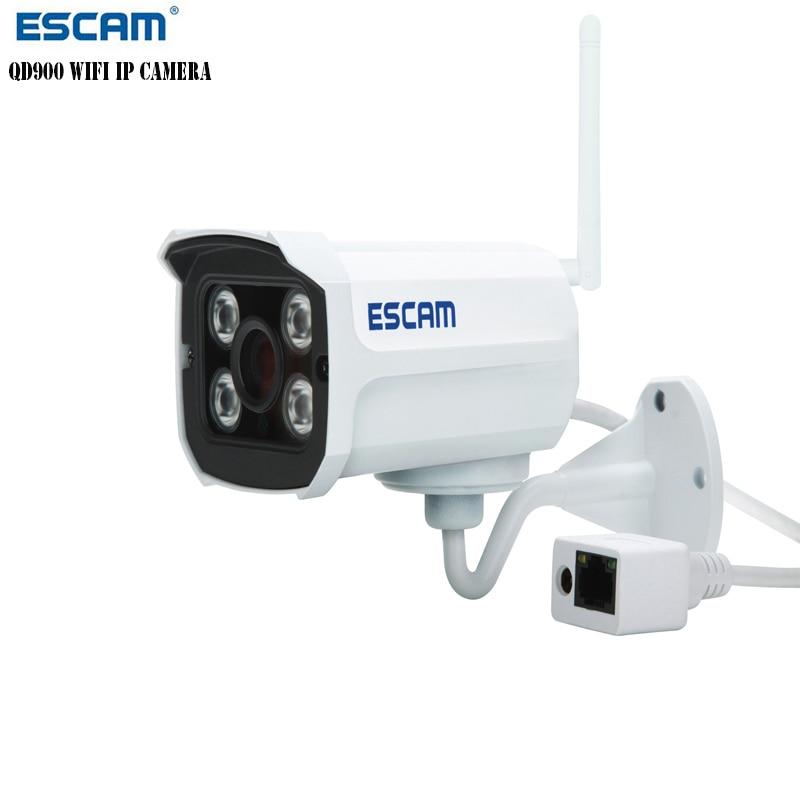 ESCAM Mini 2MP Full HD 1080P Wireless WIFI Network Bullet IP Camera IR Night Vision IP66 Outdoor Waterproof Onvif P2P IPC CAM