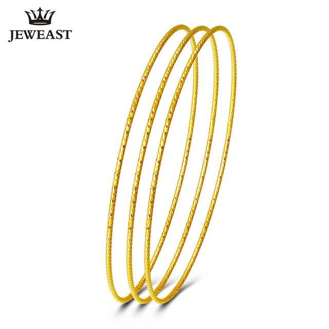 Pre-customization 18K gold bangle bracelet circle AU750 Classic simple hot sale rose Hot sales New classic pretty temperament
