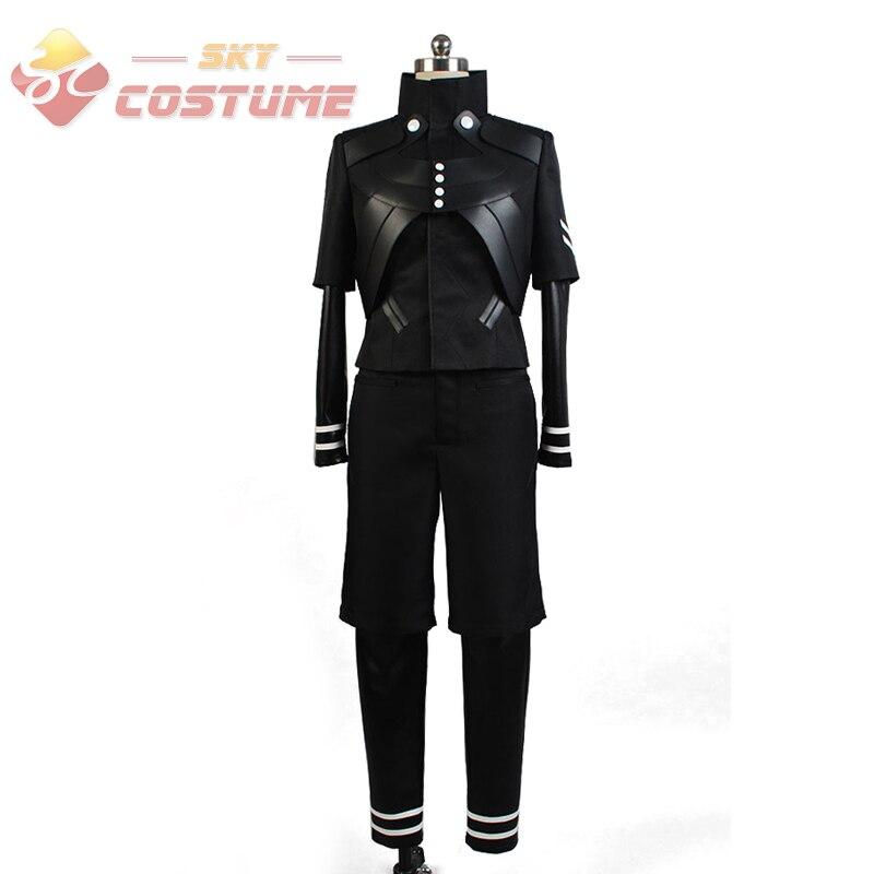 все цены на Tokyo Ghoul Kaneki Ken Cosplay Costume Jumpsuit Battle Uniform Anime Cosplay Costume Pants Jackets Coat Halloween Full Set