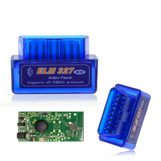 HOT sell OBD mini ELM327 Bluetooth OBD2 V2.1 Auto Scanner OBDII 2 Car ELM 327 Tester Diagnostic Tool for Android Windows Symbian