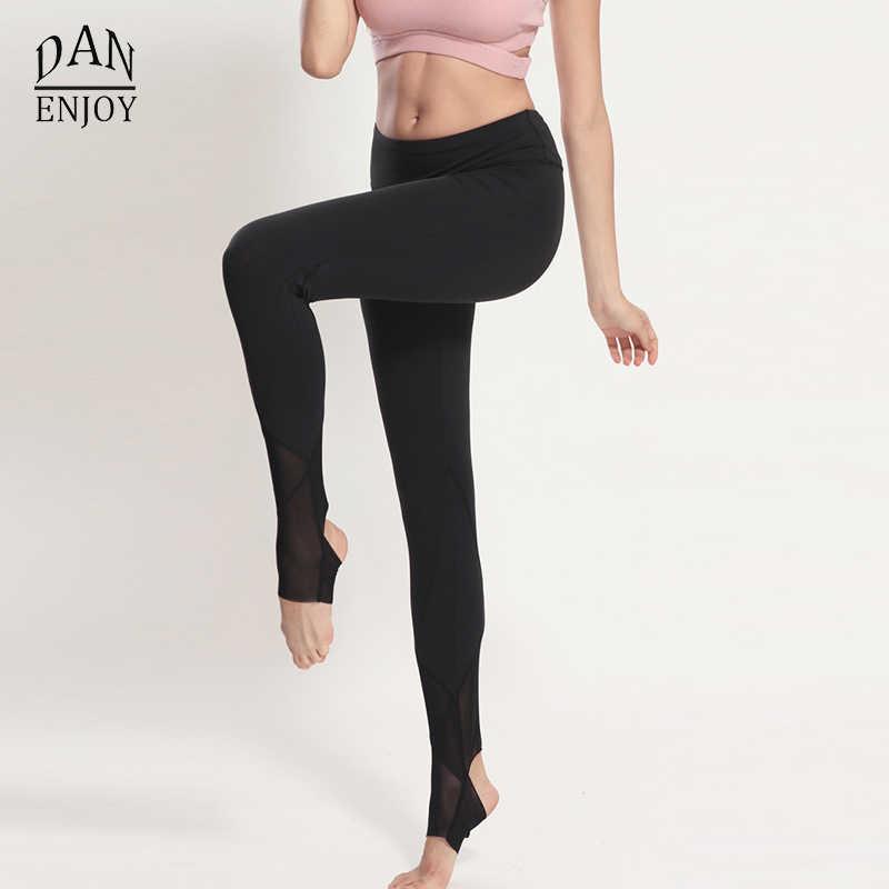 be75be419b26a ... Fitness Running Step Foot Pants Women Sports Leggings Sweat Wicking  Yoga Pants Elastic calzas deportivas mujer ...