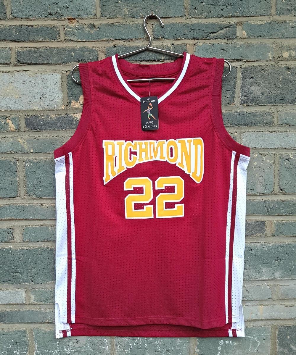 Prix pour 2016 LIANZEXIN #22 Timo Cruz Richmond Oilers Accueil Basketball Jersey Nom Et Numéro Piqué Rouge Couleur Pour Vente
