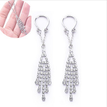 2019 New Stainless Steel Crystal Non pierced Clip On Nipple