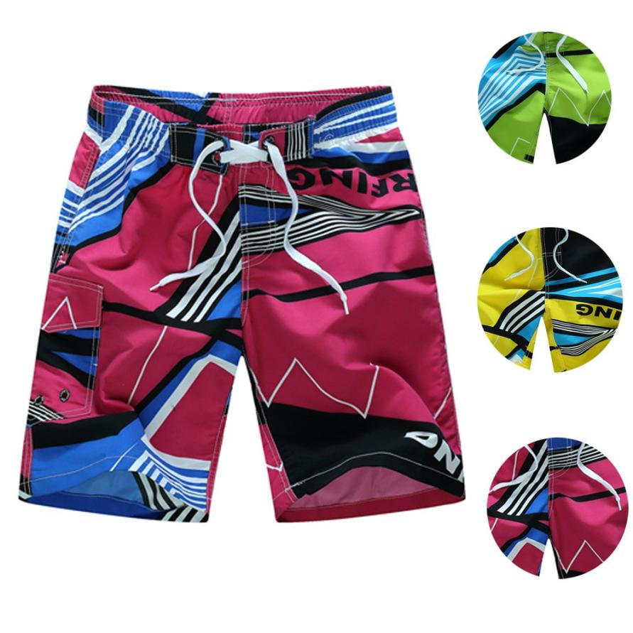 Shorts Swimwear Surfing Beach Quick-Dry Men's Man Running