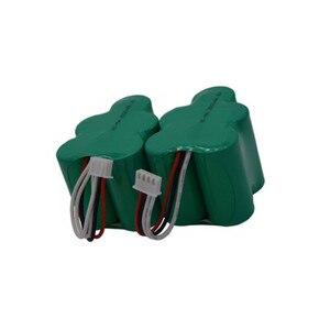 Image 1 - 2 stück 6V 3500mAh Ersatz Batterie für Ecovacs Deebot Deepoo D77 D79 D73 D76 D62 D63 D65 D66 d68 730 760 TBD71 Robotik