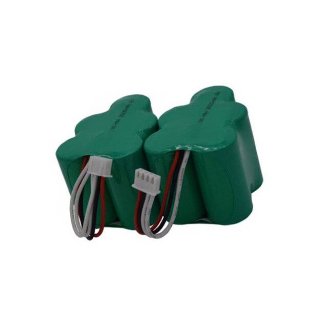 2 stück 6V 3500mAh Ersatz Batterie für Ecovacs Deebot Deepoo D77 D79 D73 D76 D62 D63 D65 D66 d68 730 760 TBD71 Robotik