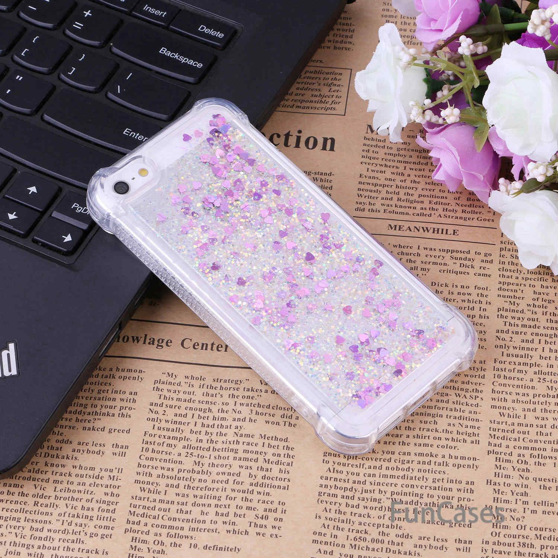 Funda líquida para cobertura iPhone 5 funda trasera suave TPU Ajax Flamingo parachoques funda para iPhone 5S SE 5C Calda celular Mobilne