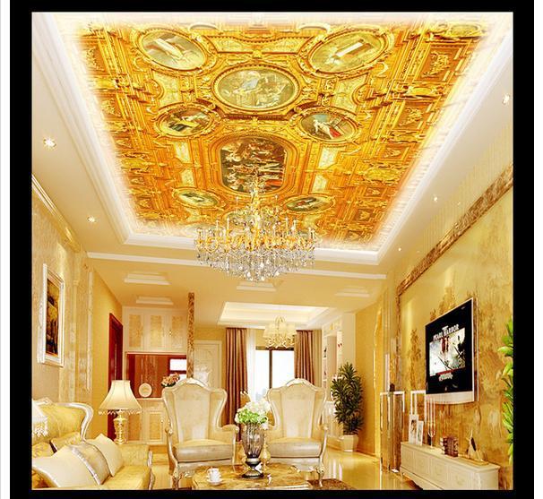 Free shopping 2015 New Condole top luxury elegant art wallpaper