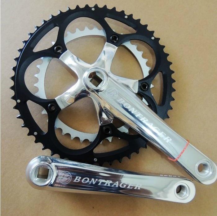 ФОТО original BT aluminum light weight 9 speed 53T*39T road bike folding bike chianwheel crankset