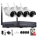 1TB HDD 4CH CCTV System 960P HDMI NVR 4PCS 1.3 MP IR Outdoor P2P Wireless IP CCTV Camera Security System Surveillance Kit Hiseeu
