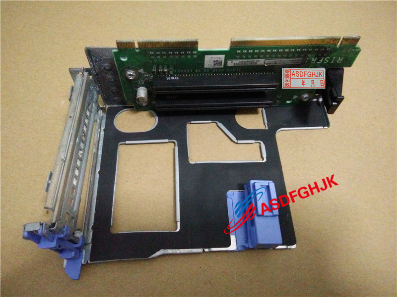 Original 0R1F5V CN-0R1F5V R1F5V pour Dell PowerEdge R820 serveur Riser carte Riser carte 2x PCI-E 3.0x16 entièrement testé
