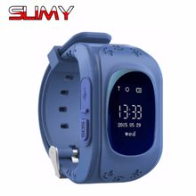 Slimy Q50 GPS Kids Watch Hours Clock Baby Smart Watch for Children SOS Call Location Finder Locator Tracker Anti Lost Smartwatch(China)