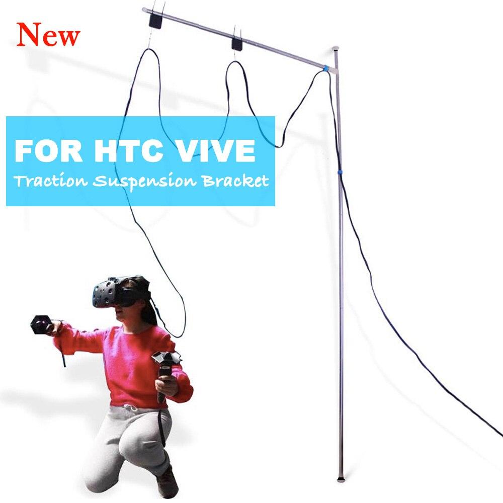 Voor VIVE HTC VR Tractie Schorsing Beugel Voor HTC VIVE Virtual Reality Plafond Ophanging Kabel Managment Accessoires-in Toebehoren van VR/AR-bril van Consumentenelektronica op  Groep 1
