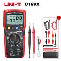UT89X multimètre Digitale véritable RMS 1000V 20A DC CA multimètre 2.8 écran LCD 6000 comptes condensateur/Triode/température NCV