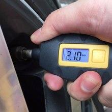 LED Backlight Wheel Tire Tyre Air Pressure Gauge Tester Digital Auto Meter Tool Vehicle Motorcycle Car 3-100 PSI KPA BAR
