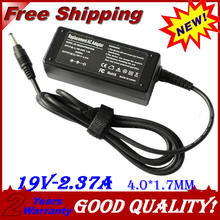 19V 2.37A 4.0*1.7MM 45W Replacement For Toshiba Laptop AC Po