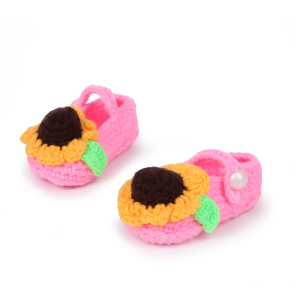 Cute-sunflower-design-Handmade-Knit-baby-knitting-Woolen-Sock-Shoes-baby-photography-props-5BS46-1