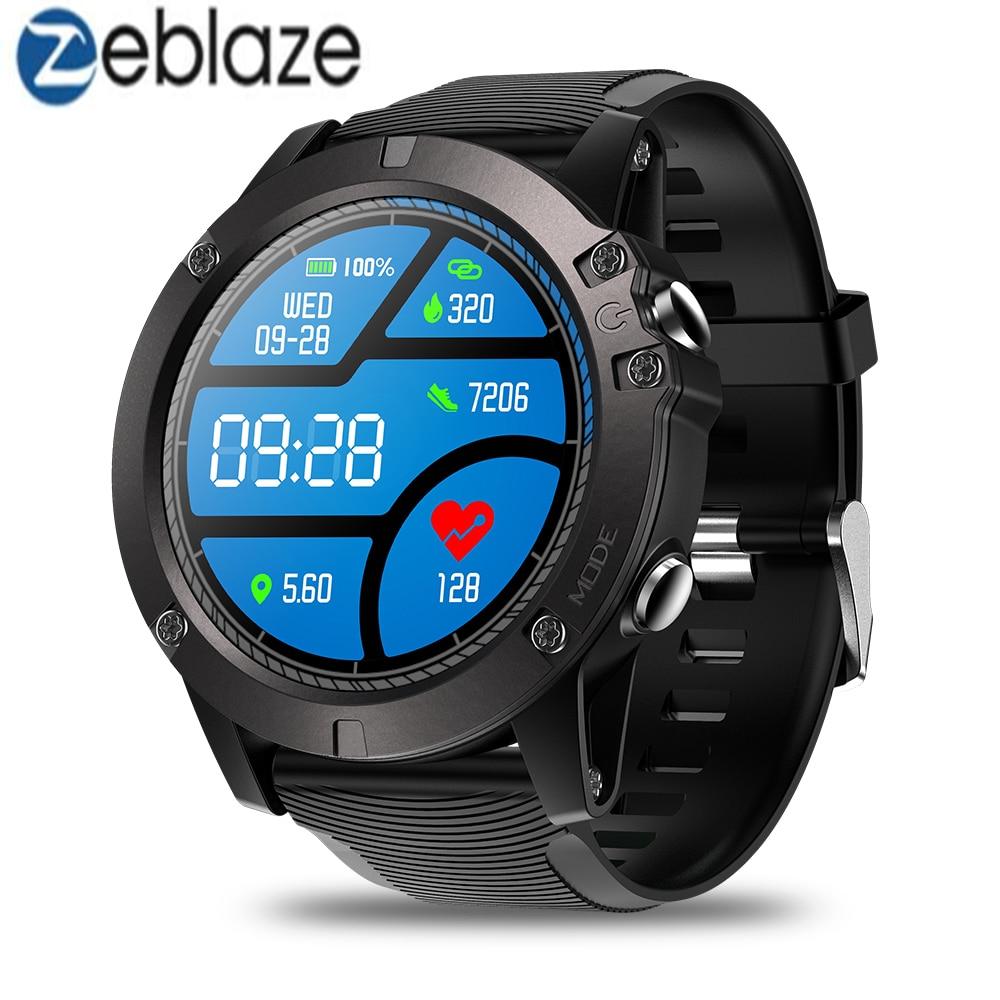 Zeblaze VIBE 3 PRO Smart Watch Men 1 3 Screen Wristwatches Bluetooth 4 0 Heart Rate
