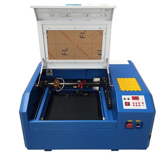 co2 laser engraving machine diy mini  laser cutting machine cutting plywood Coreldraw support Free shipping