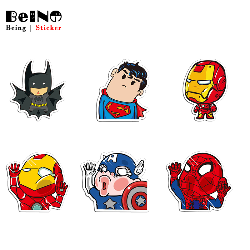 Super Hero Hulk Batman Sticker Spiderman Anime Waterproof Suitcase DIY Laptop Guitar Luggage Skateboard Toy Lovely Stickers QY48Super Hero Hulk Batman Sticker Spiderman Anime Waterproof Suitcase DIY Laptop Guitar Luggage Skateboard Toy Lovely Stickers QY48
