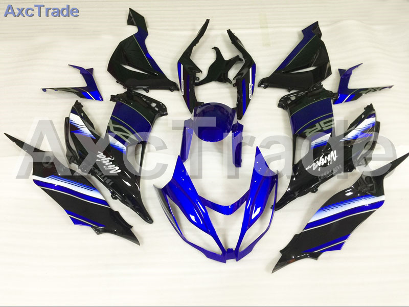 Motorcycle Fairings For Kawasaki Ninja ZX6R 636 ZX-6R 2013 2014 2015 2016 13-16 ABS Plastic Injection Fairing Bodywork Kit Blue motorcycle fairings for kawasaki ninja 250 zx250 ex250 2008 2012 08 12 abs plastic injection fairing bodywork kit green a650