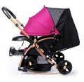 High Quality Directional Suspension Child Stroller Buggy Board Balance Baby Walker Value Baby Stroller Pram Children Pushchair