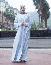 Women Clothing Hand Pearl Beading Patch Designs Muslim Cardigan Abaya Islamic Maxi Dress Middle East Kaftan Turkish Robes Kimono