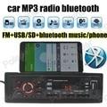 1 din size bluetooth music phone MP3 Player New Car Radio Bluetooth 1 DIN SD/USB FM Stereo Auxin universal