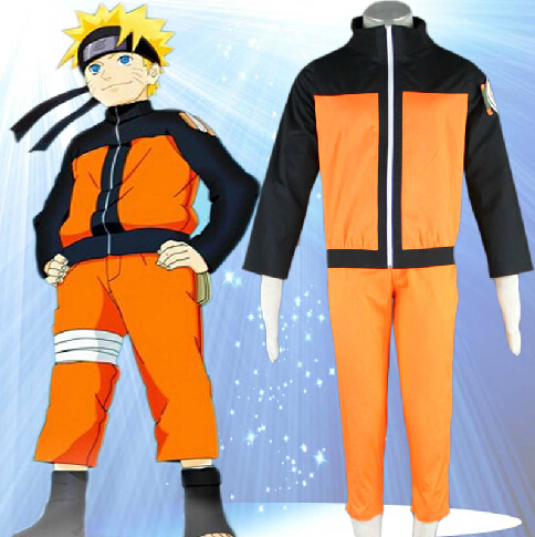 Custom made Naruto Jacket Naruto Shippuden Uzumaki Men\u002639;s Naruto Cosplay Costume Anime for
