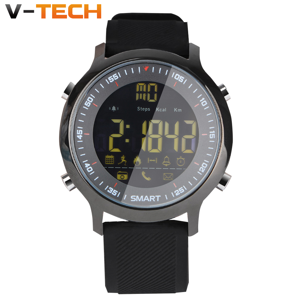 EX18 Smart Watch Men Sport Watch 5ATM IP67 Waterproof Bluetooth 4.0 SmartWatch Pedometer Call reminder Stopwatch for IOS Androi