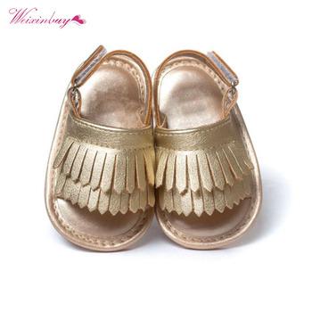 Dziecięce sandały dziewczęce letnie dziecięce buty dorywczo modne dziecięce buty dziewczęce sandały dla dziewczynek PU frędzlami sandały niemowlęce 9 kolorów tanie i dobre opinie Baywell baby RUBBER Lato CN (pochodzenie) Mieszkanie z Pasuje prawda na wymiar weź swój normalny rozmiar Baby girl