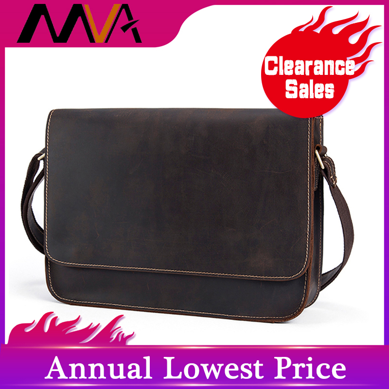 MVA Messenger Mens Shoulder Bag Genuine Leather Bags Male Briefcases Laptop Crossbody Bag Business Bags For Men Cowhide 9022MVA Messenger Mens Shoulder Bag Genuine Leather Bags Male Briefcases Laptop Crossbody Bag Business Bags For Men Cowhide 9022
