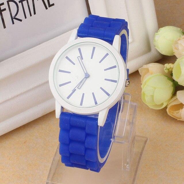 Zegarek damski GENEVA jelly watch sylikonowa opaska 14 modnych kolorów
