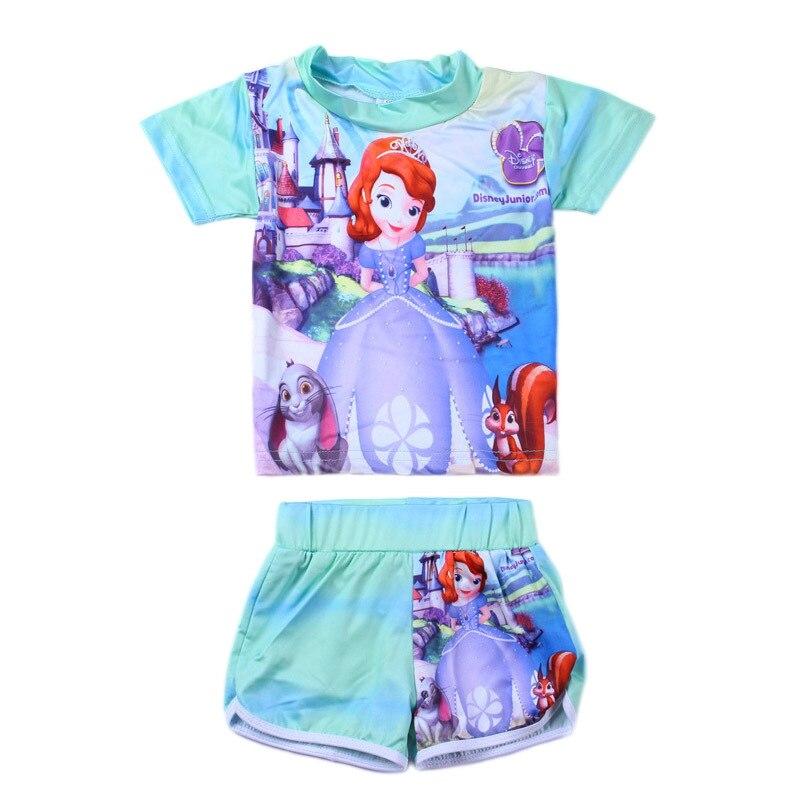 Girls Hello Kitty Tankini Two Piece Swimming Costume Swimsuit.Sizes:2-6 Years