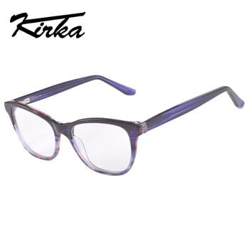 0010e1382e3 Kirka 2018 Women s Optical Retro Eye Glasses Frame Unisex Spectacle Frame  Fashion Eyeglasses Vintage with Clear Lens Oculos
