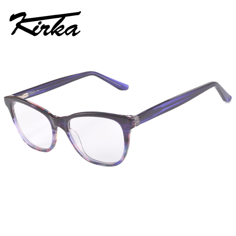 Kirka 2018 Óptica Retro Eye Glasses Frame Unisex Marco de gafas Moda - Accesorios para la ropa - foto 2